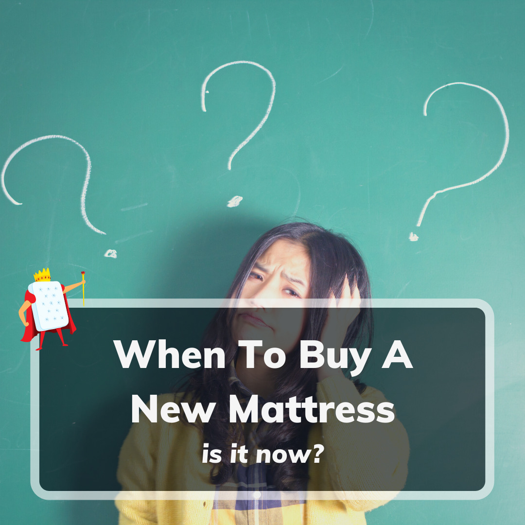 When To Buy A New Mattress