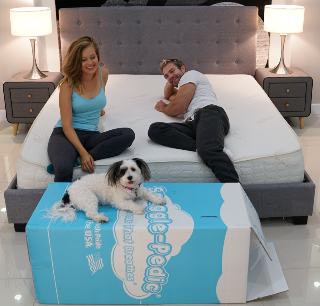 snuggle pedic mattress review