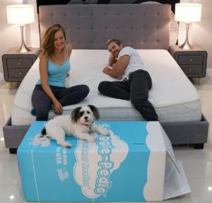 snuggle pedic mattress review