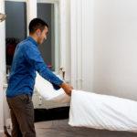 proper way make bed