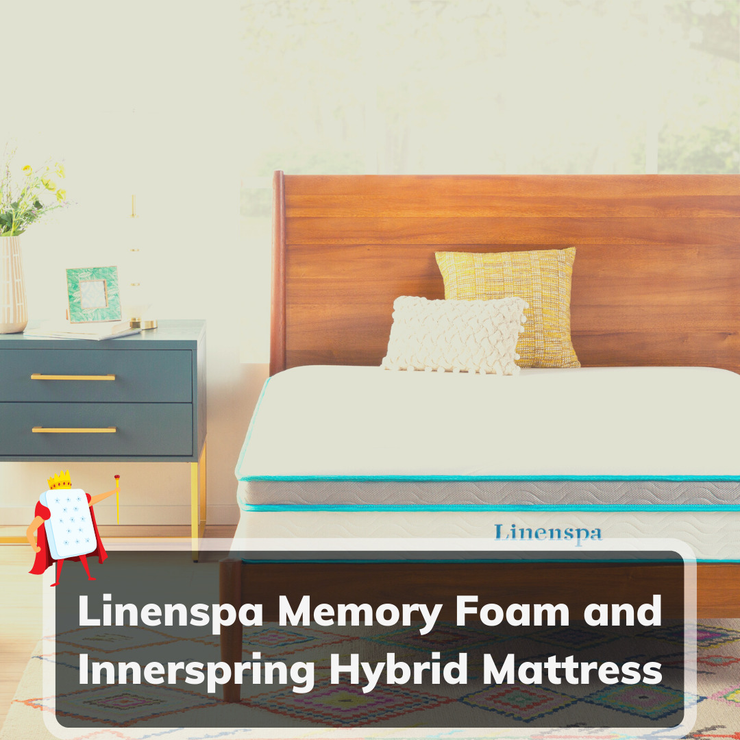 Linenspa Memory Foam and Innerspring Hybrid Mattress Review - Feature Image
