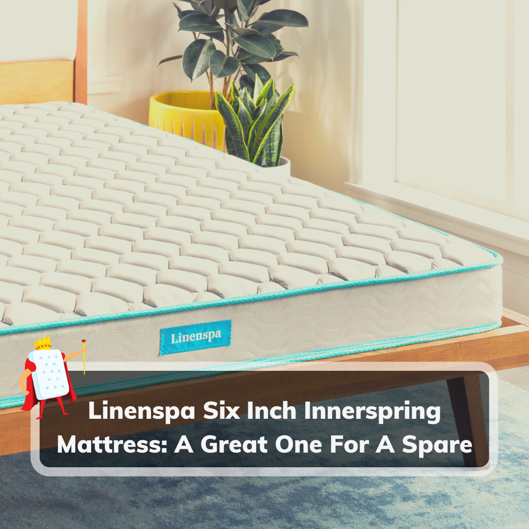 Linenspa Six Inch Innerspring Mattress - Feature Image