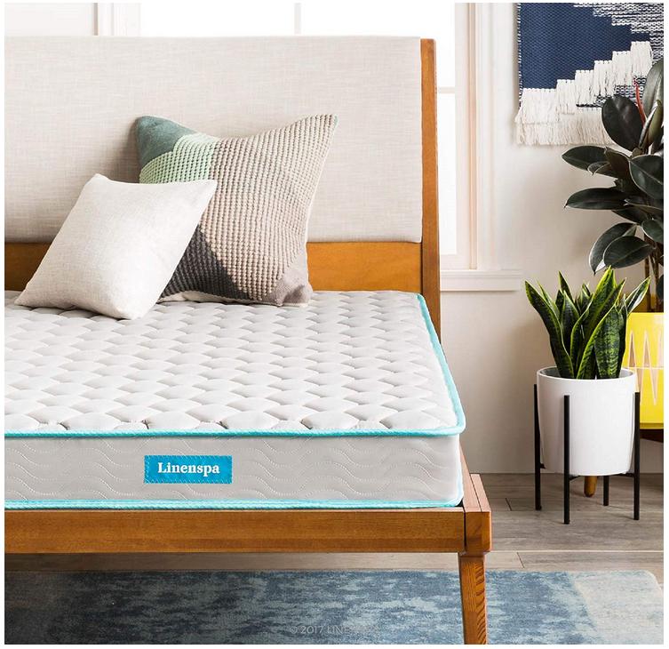 linenspa six inch innerspring mattress
