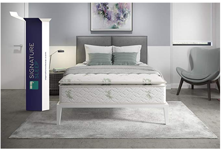 signature sleep signature hybrid mattress 13 inch