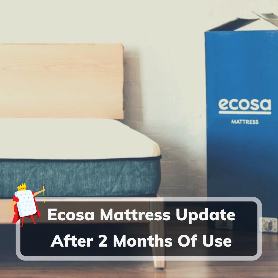 Ecosa Mattress Update 2 Months - Feature Image