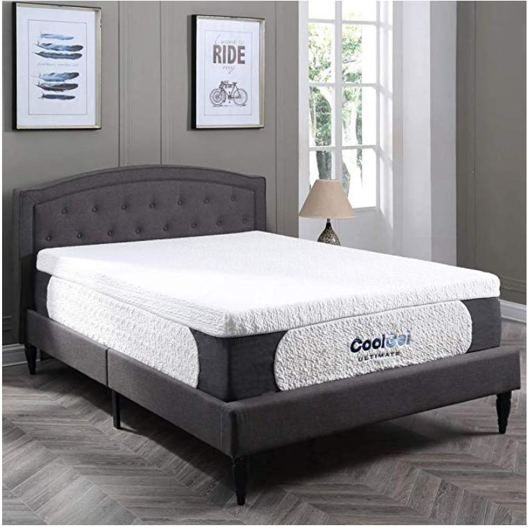 classic brands cool gel memory foam mattress