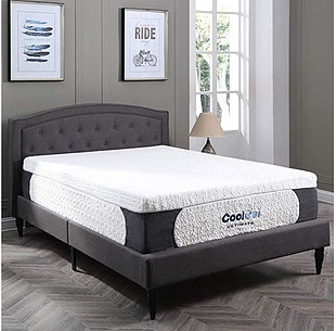 classic brands cool gel memory foam mattress is great for side sleepers