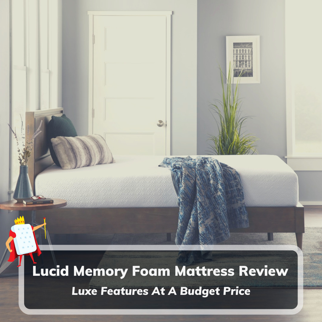 Lucid Memory Foam Mattress Review - Feature Image
