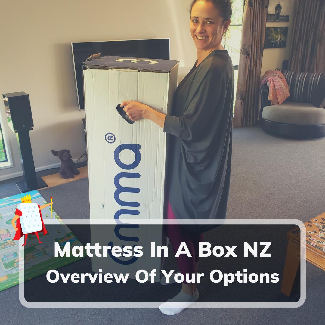 Mattress In A Box NZ- Feature Image