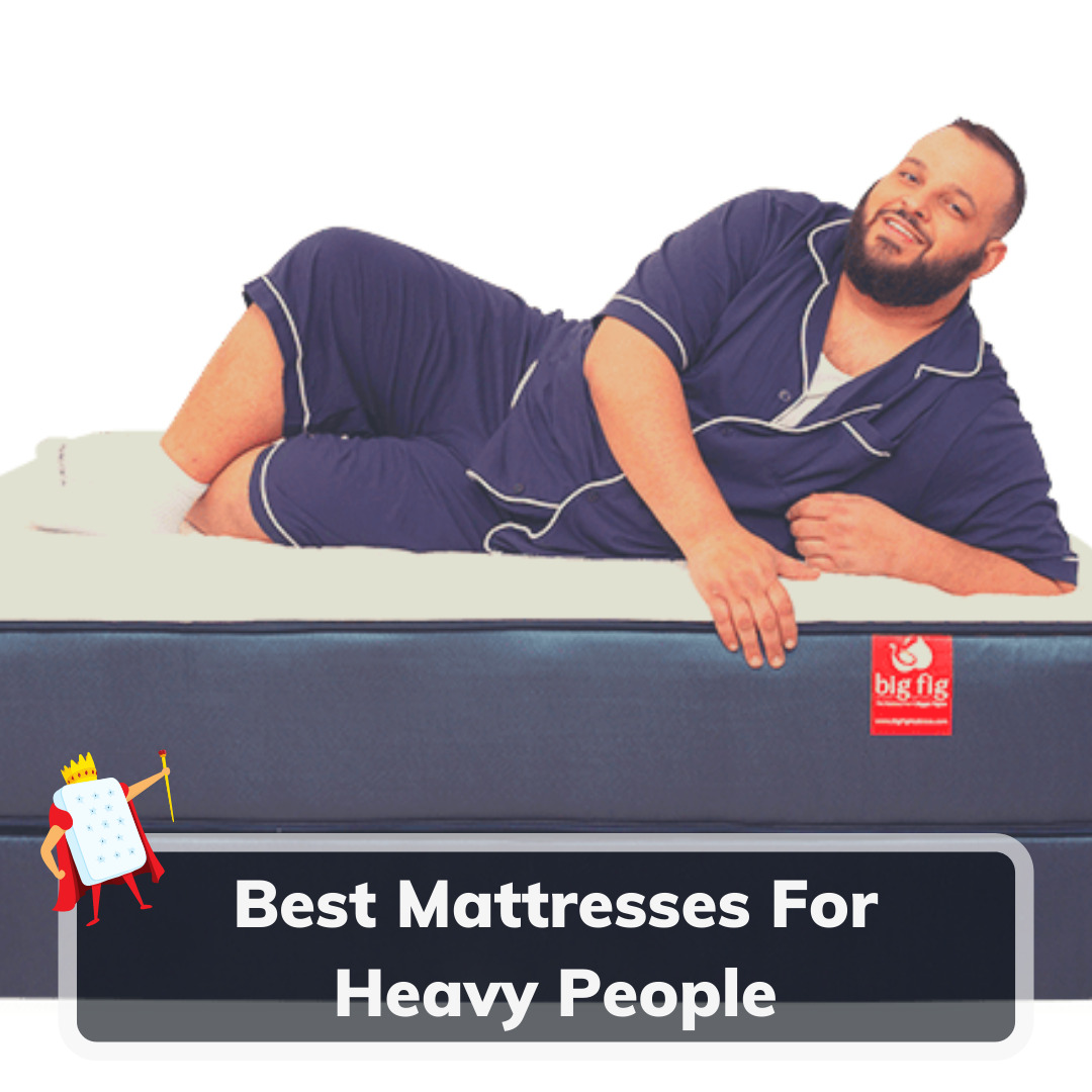 Best Mattresses For Heavy People - Feature Image