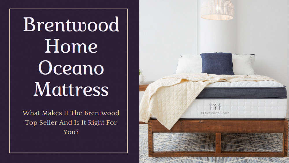 Brentwood Oceano Mattress - Cover Image