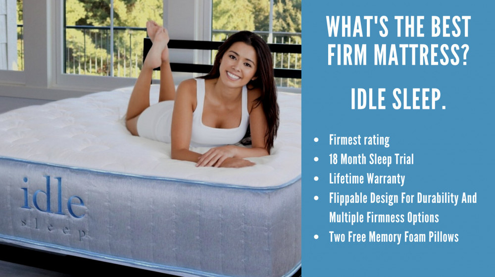 Whats The Number 1 Best Firm Mattress - Cover Image