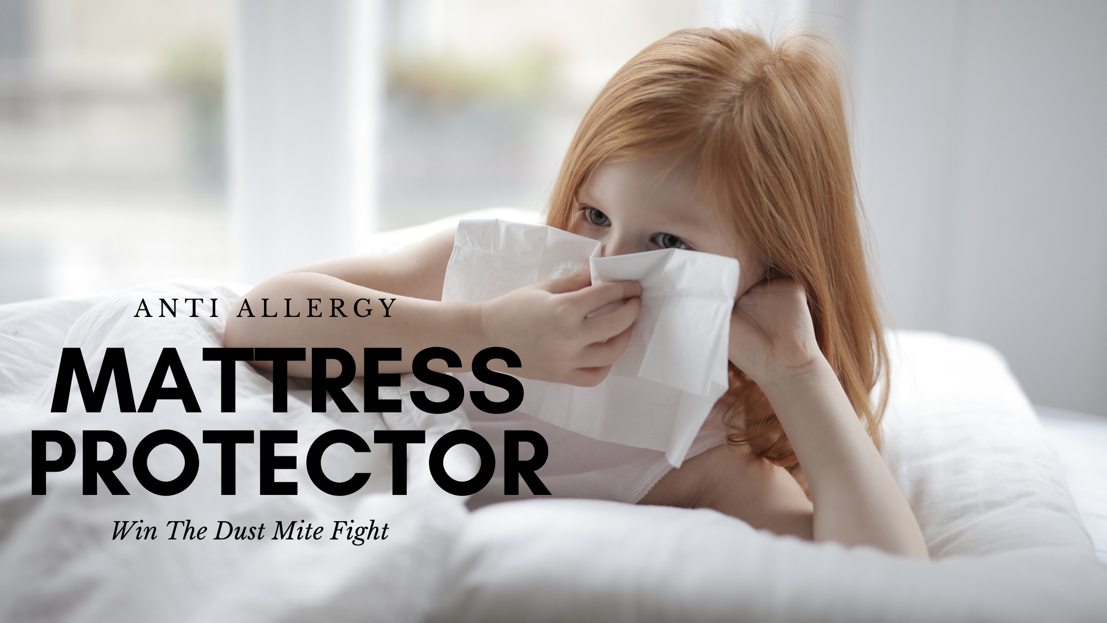 Anti Allergy Mattress Protector - Cover Image