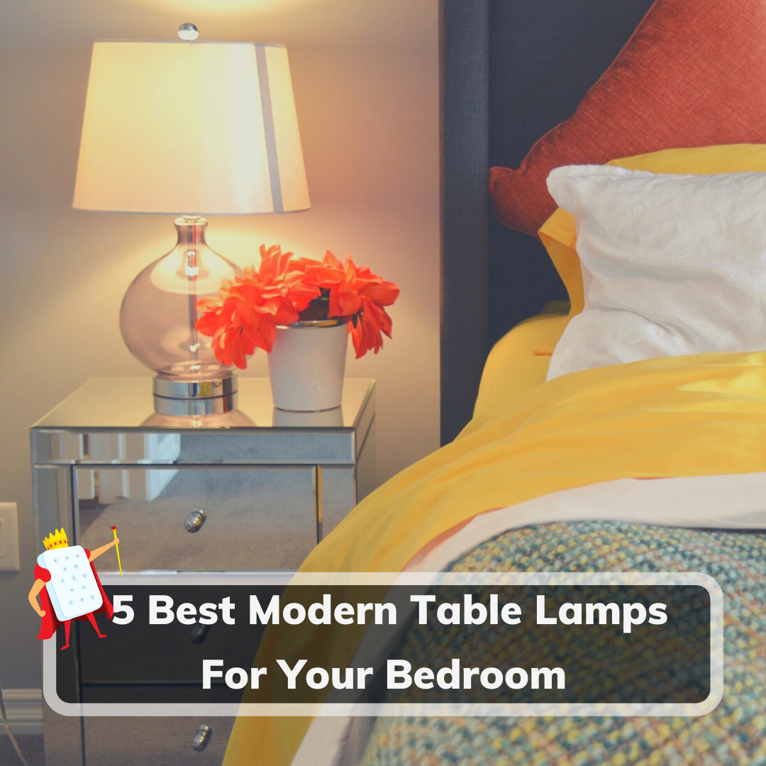 Modern Table Lamps For A Bedroom - Feature Image