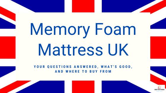 Memory Foam Mattres UK - Cover Image