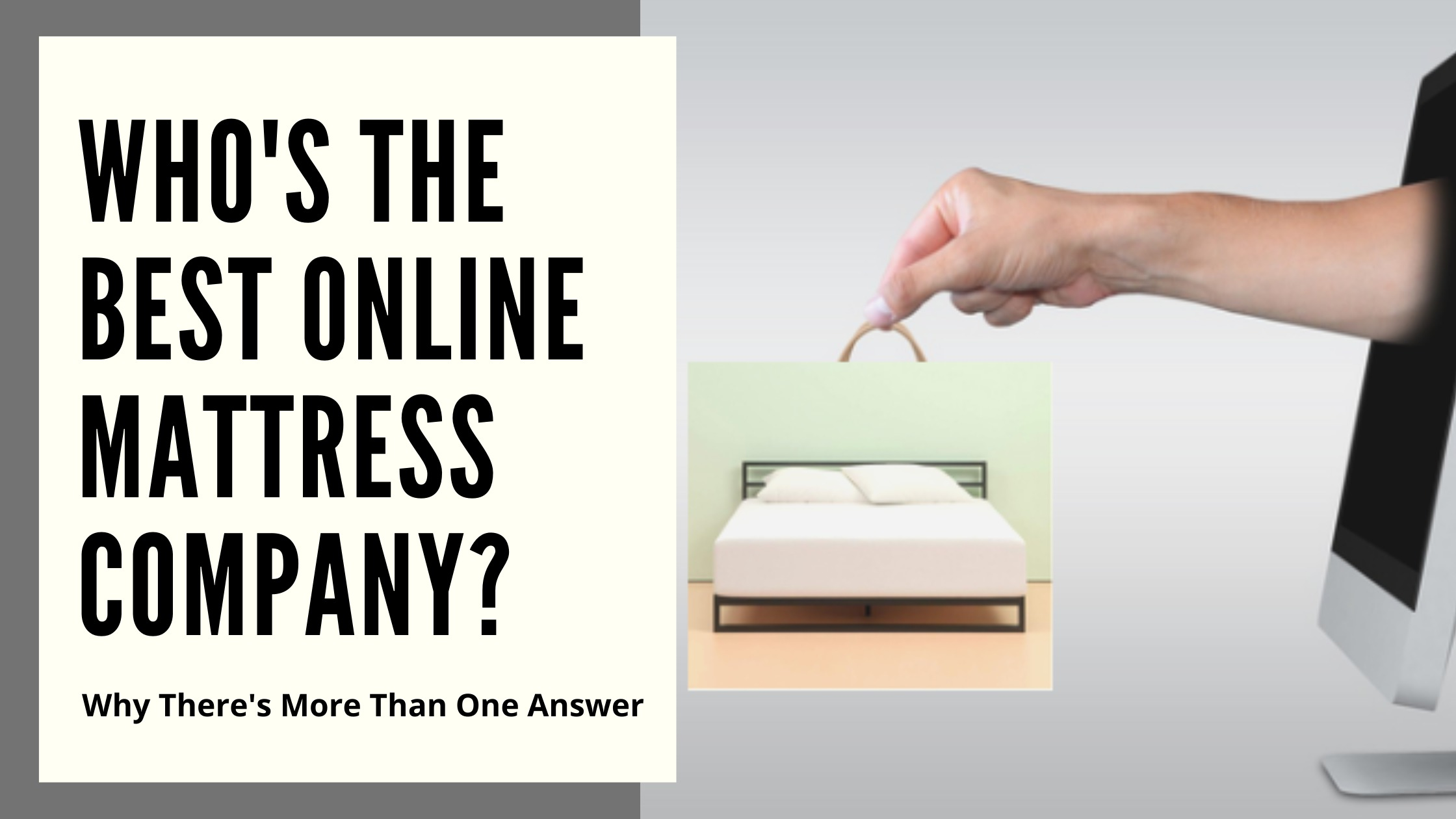 Best Online Mattress Company