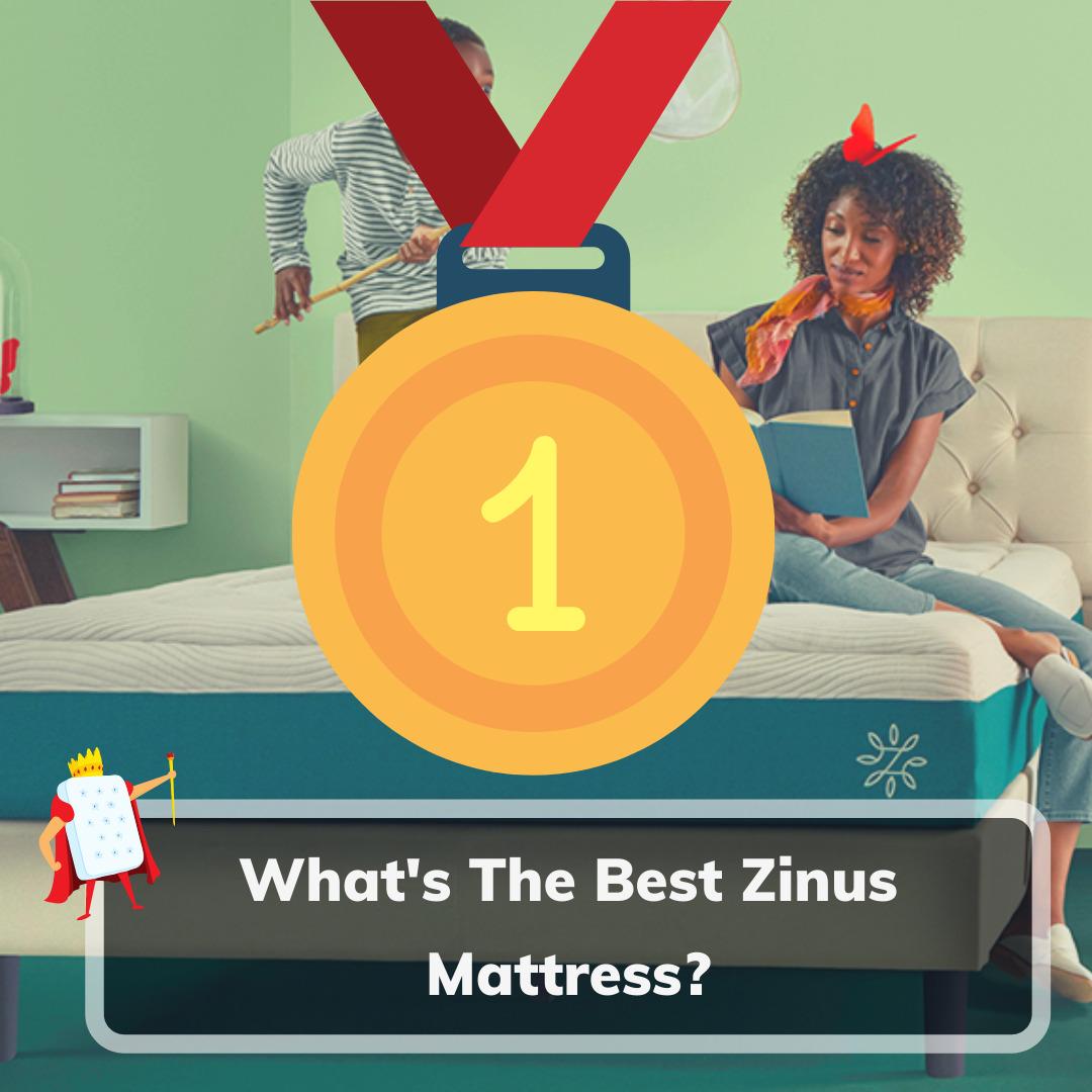 Best Zinus Mattress - Feature Image