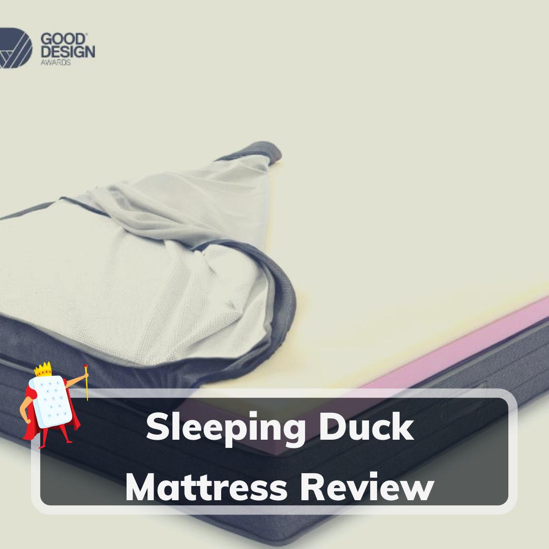 Sleeping Duck Mattress Review - Feature Image