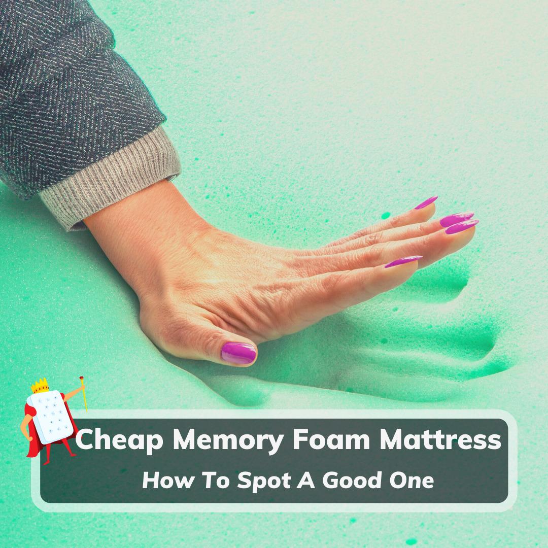 Cheap Memory Foam Mattress - Feature Image