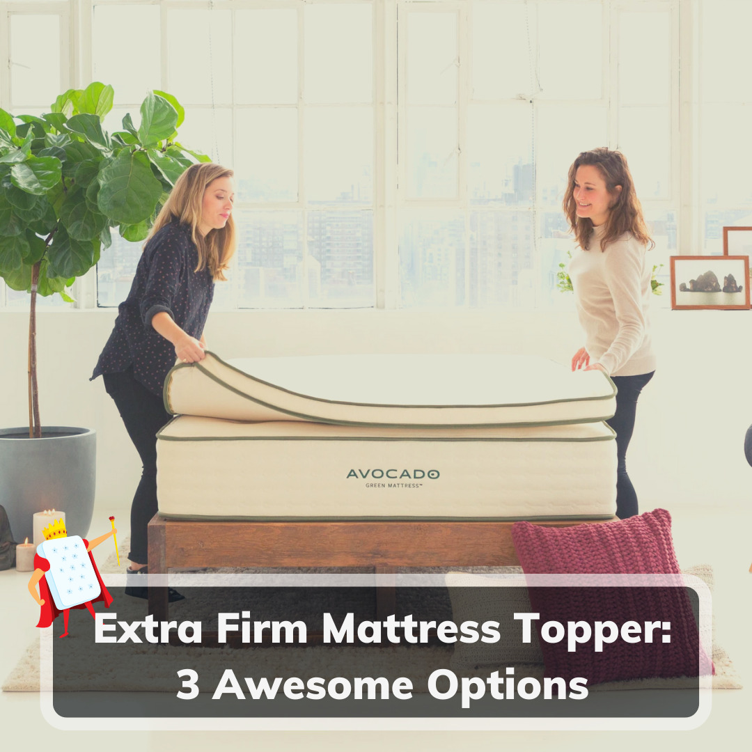 Extra Firm Mattress Topper - Feature Image