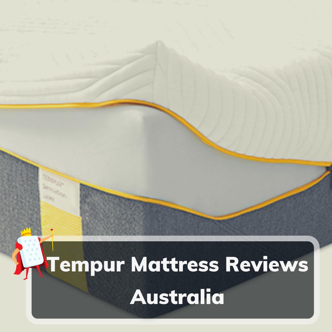 Tempur Mattress Reviews Australia- Feature Image