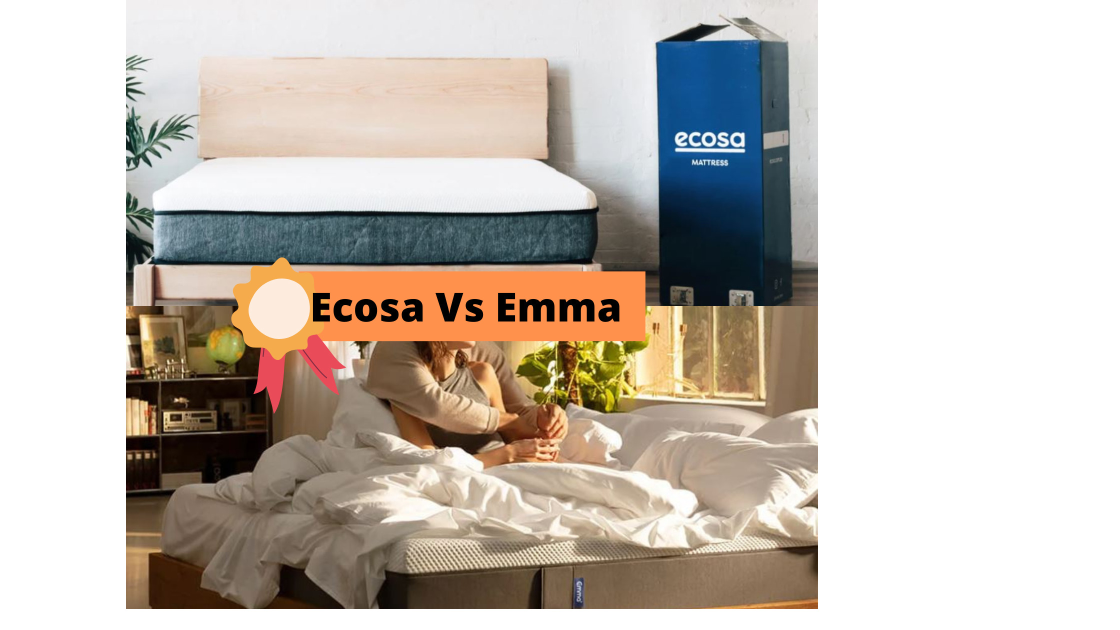Ecosa Vs Emma - NZ Mattress In A Box Comparisons