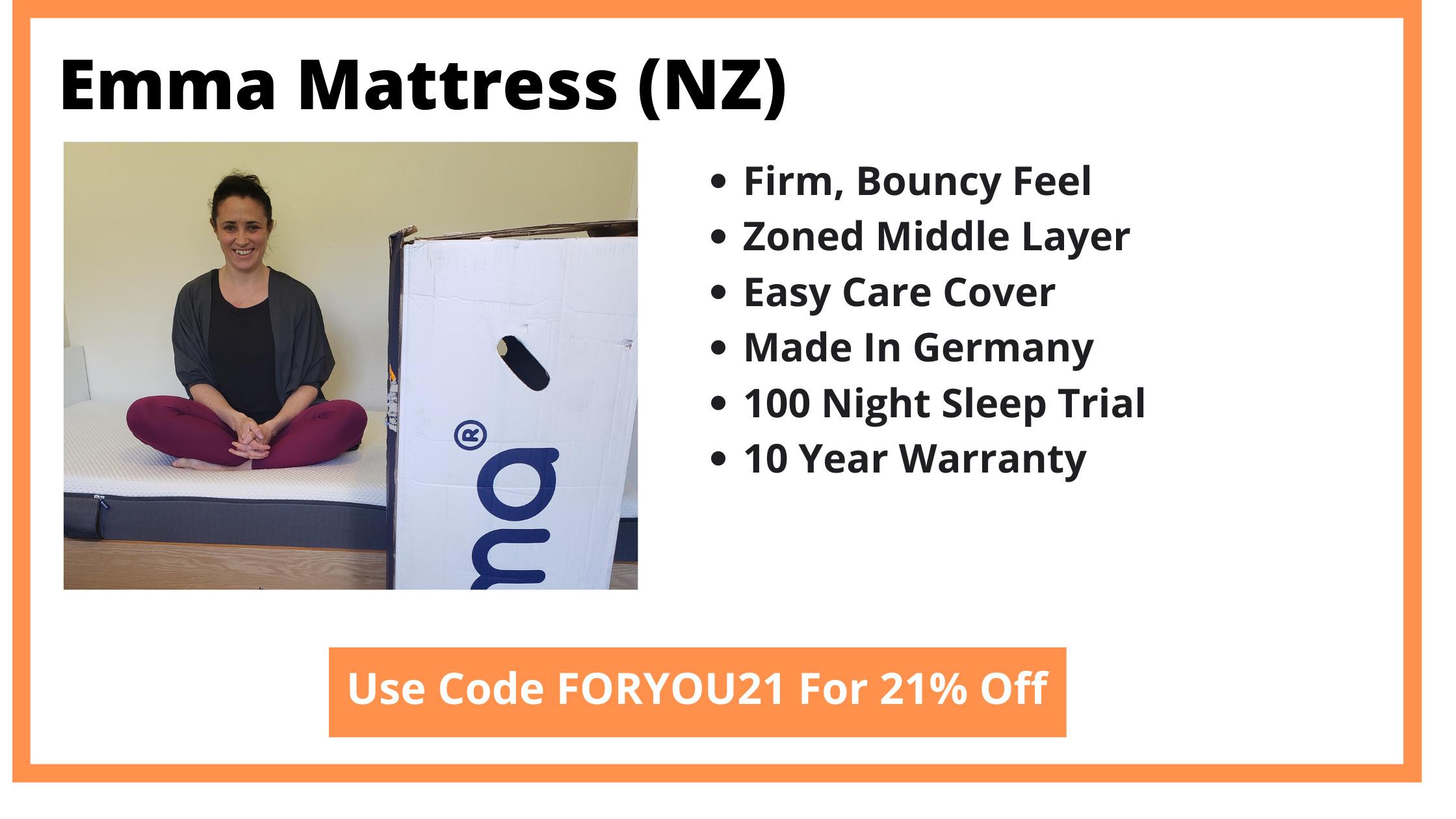 Emma Mattress Review NZ - Cover Image