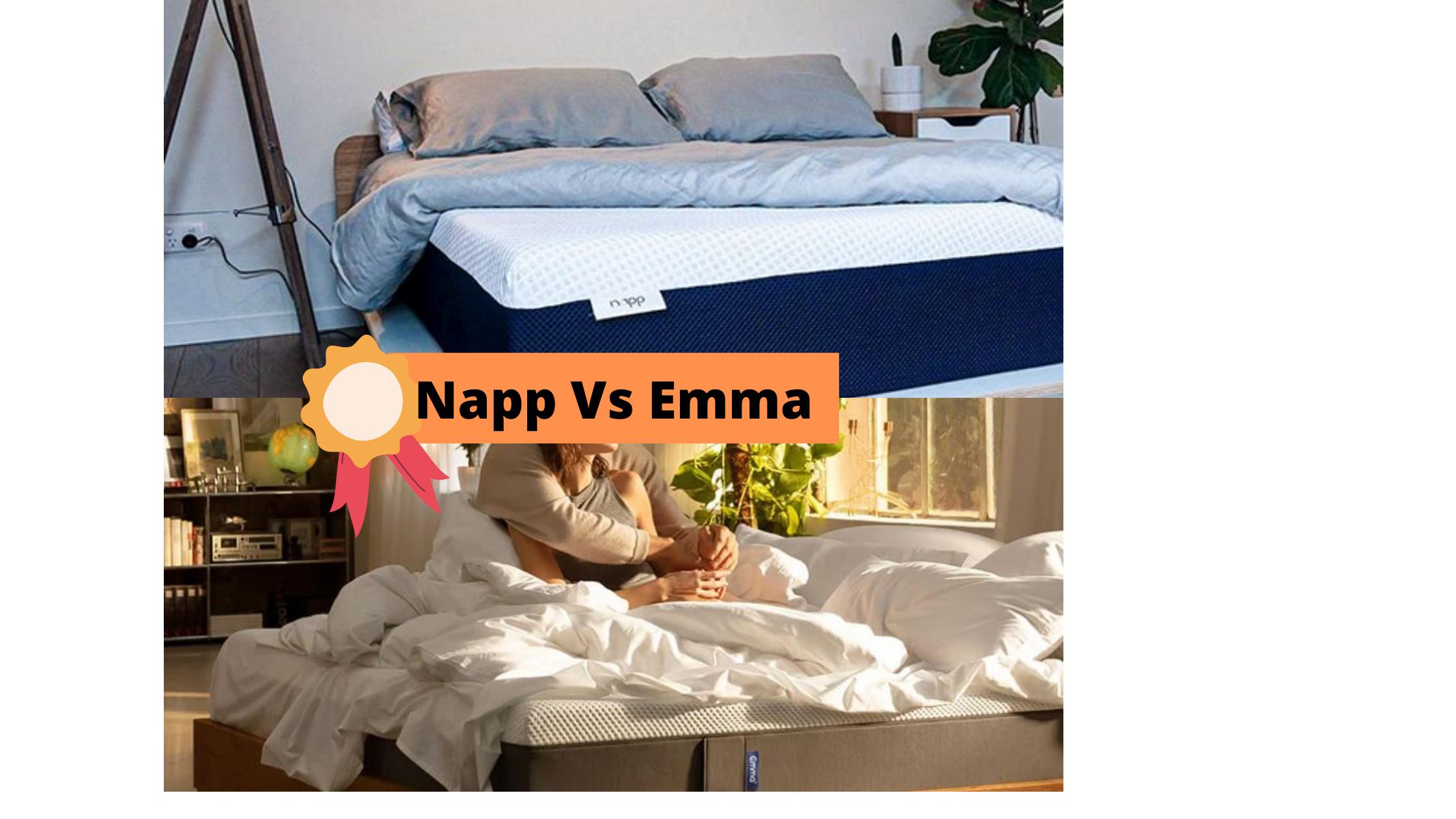 Napp Vs Emma - Mattress In A Box Comparison