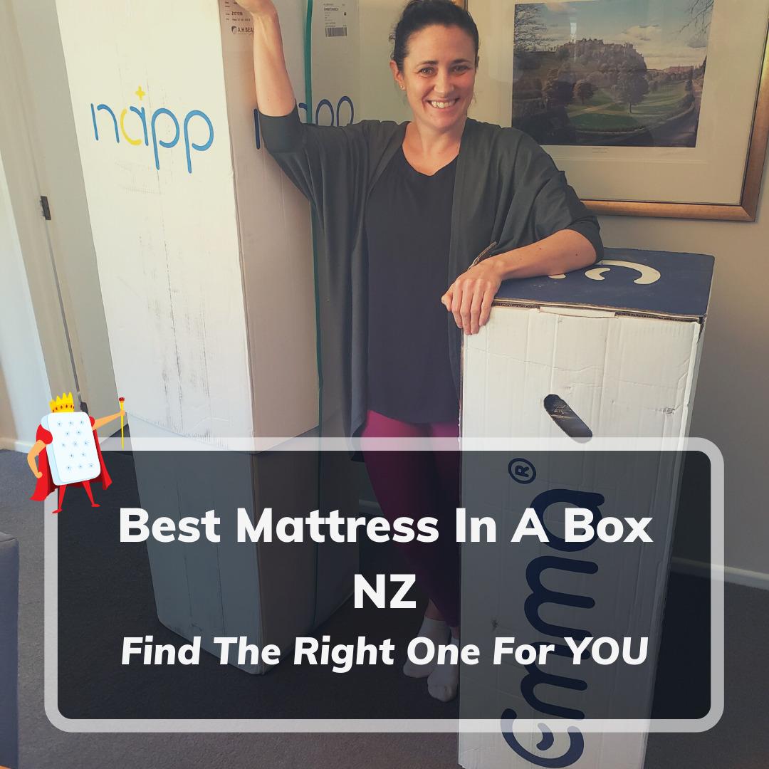 Best Mattress In A Box NZ Feature Image