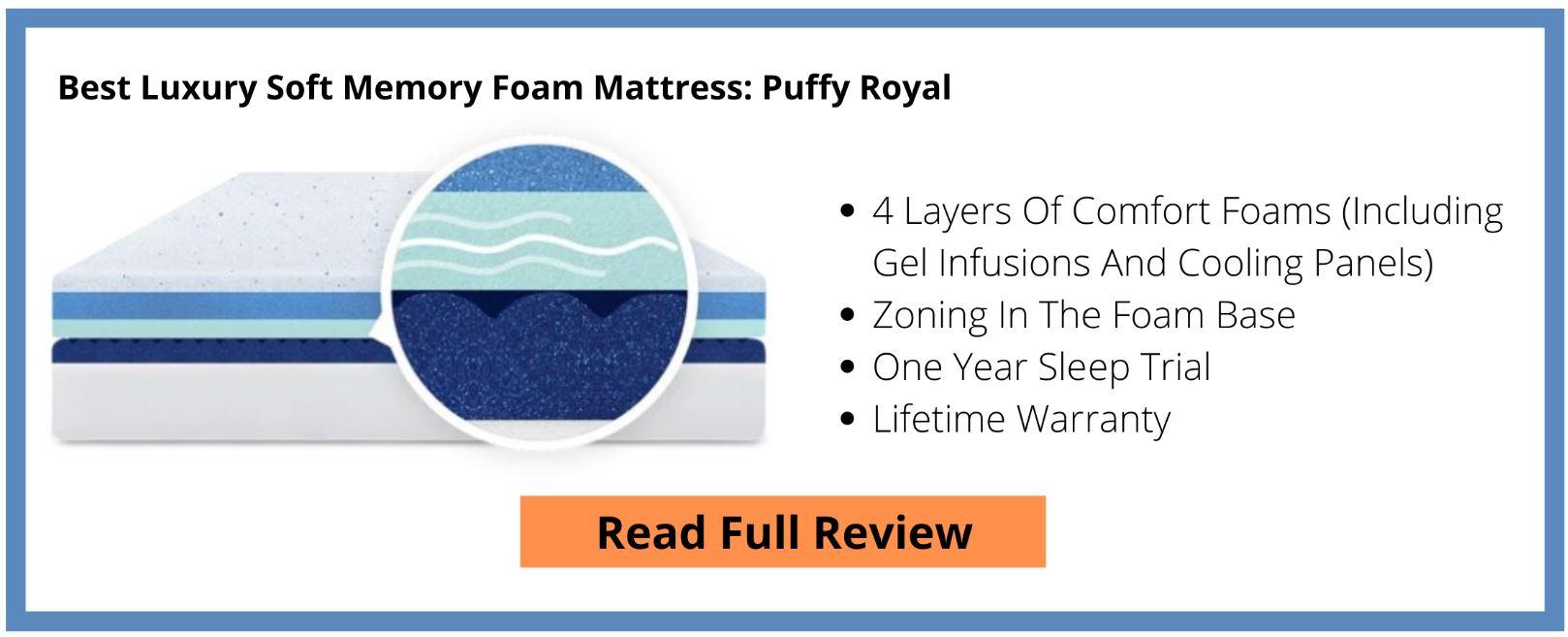 Puffy Royal Mattress Review Button