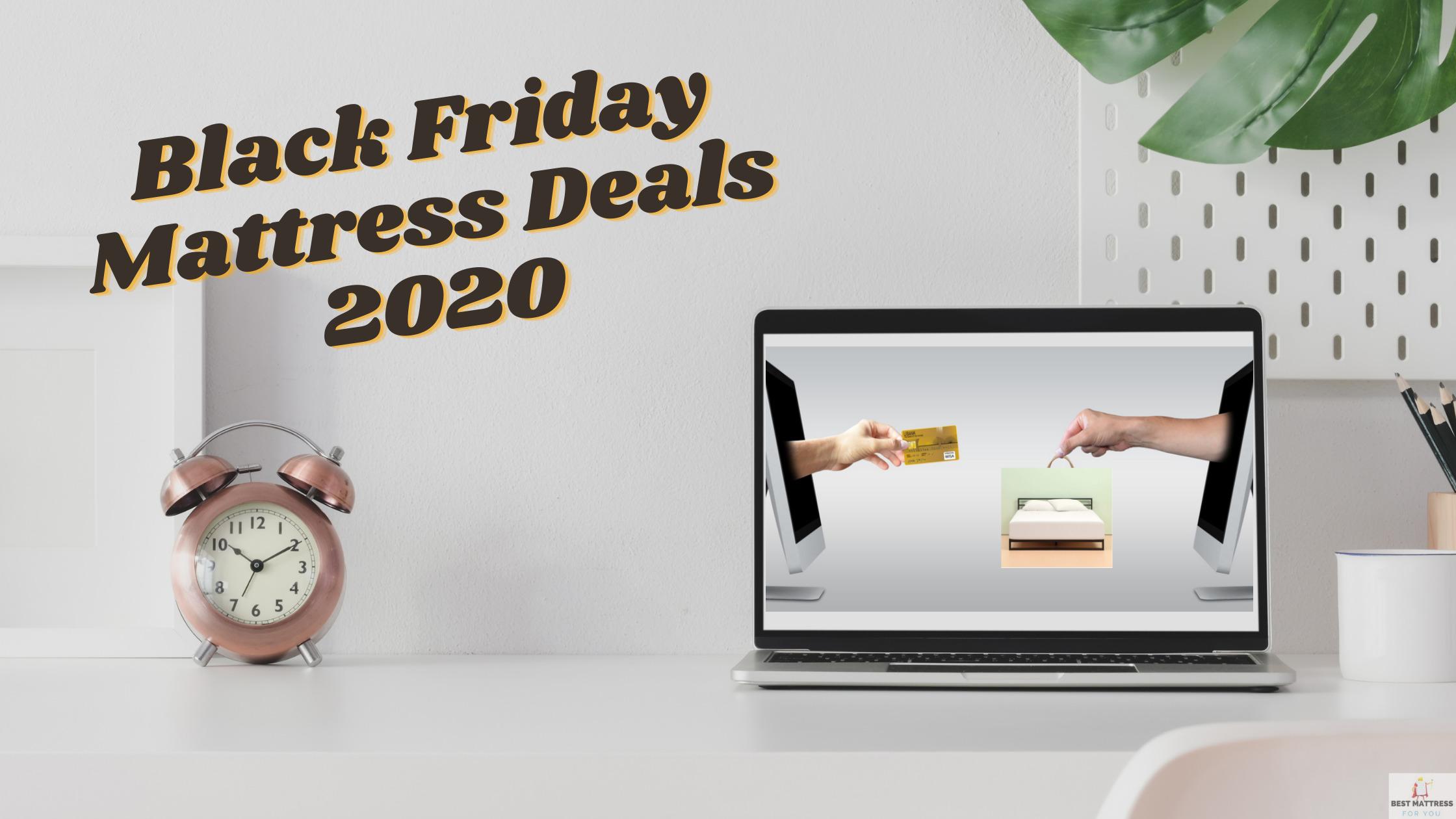 Black Friday Mattress Deals 2020