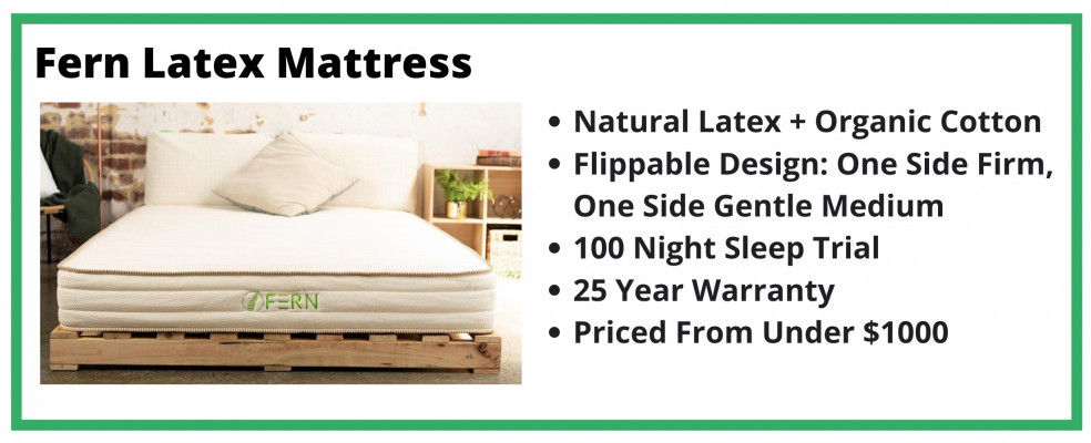 Fern Mattress Review Cover Image