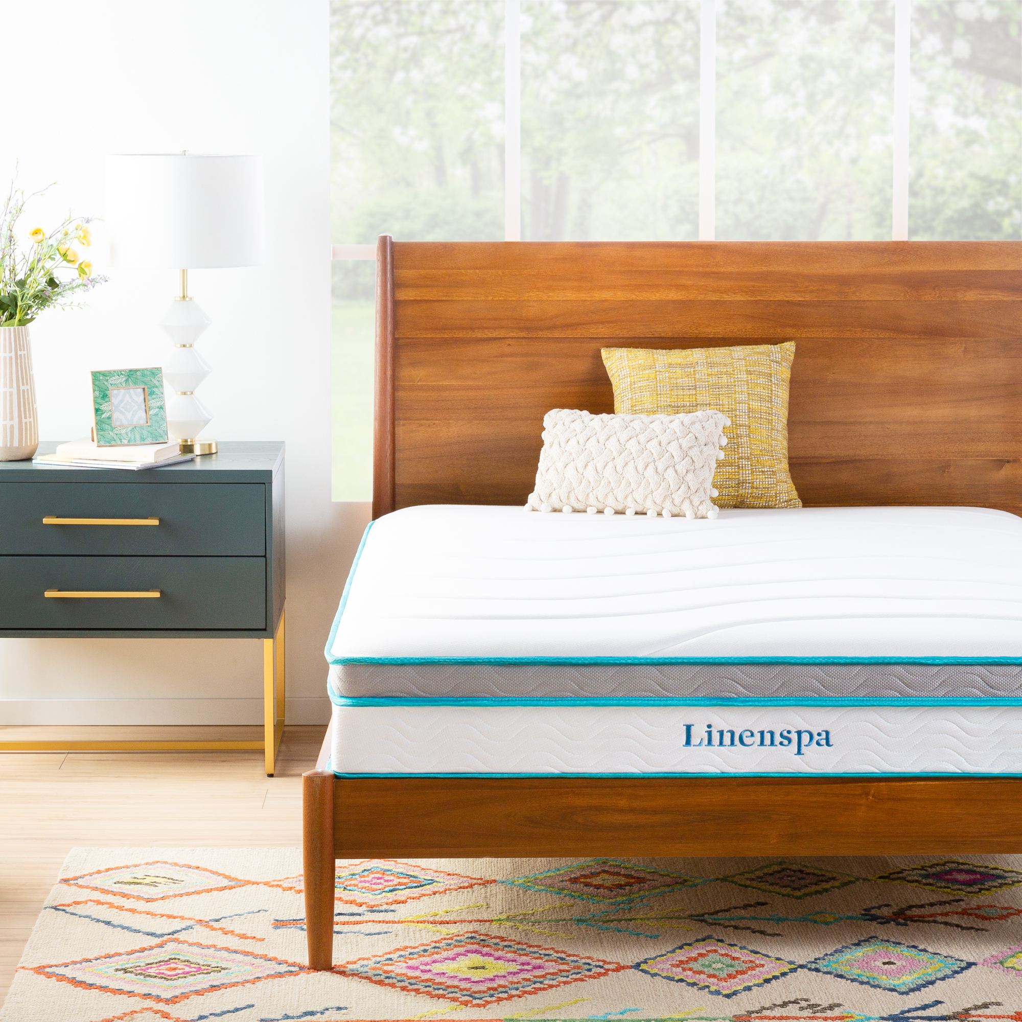 Linenspa Memory Foam and Innerspring Hybrid Mattress Review - Cover Image