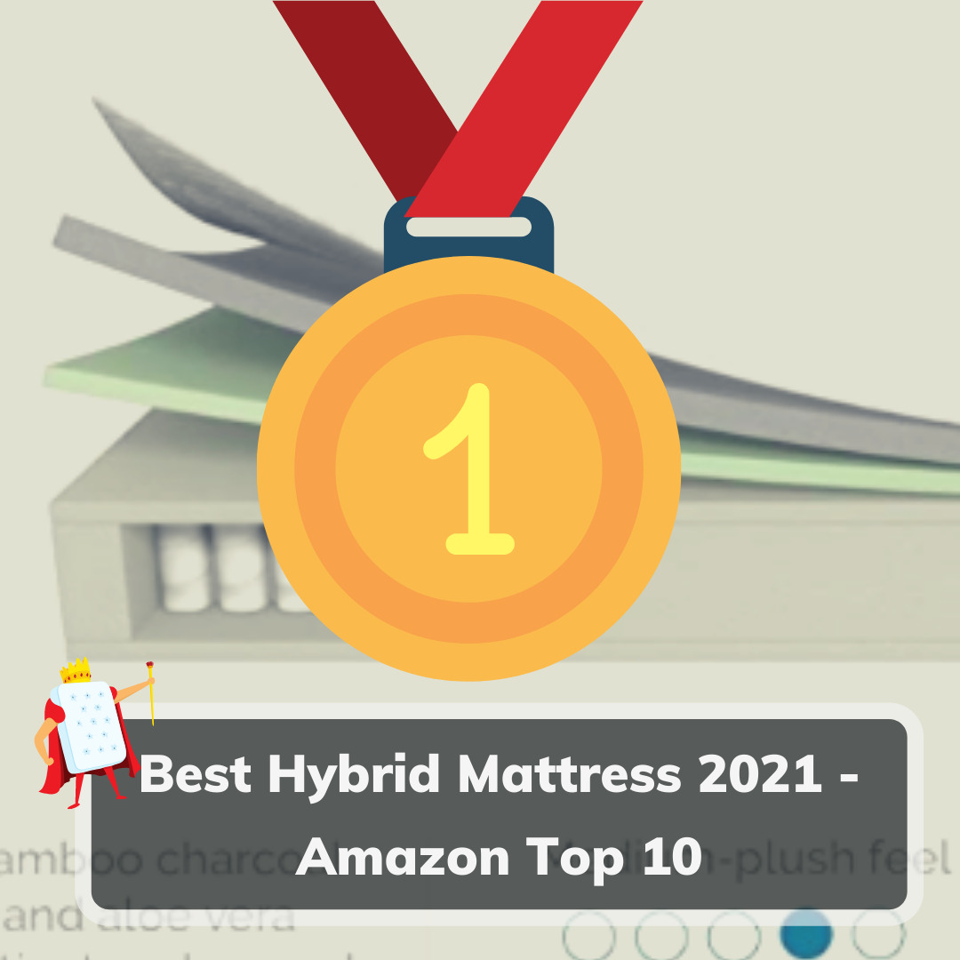 Best Hybrid Mattress 2021 Amazon Top 10- Feature Image