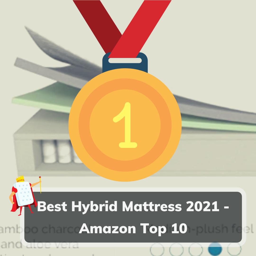 Best Hybrid Mattress 2021 Amazon Top 10- Feature Image