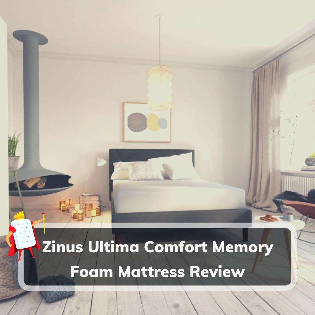 Zinus Ultima Comfort Memory Foam - Cover
