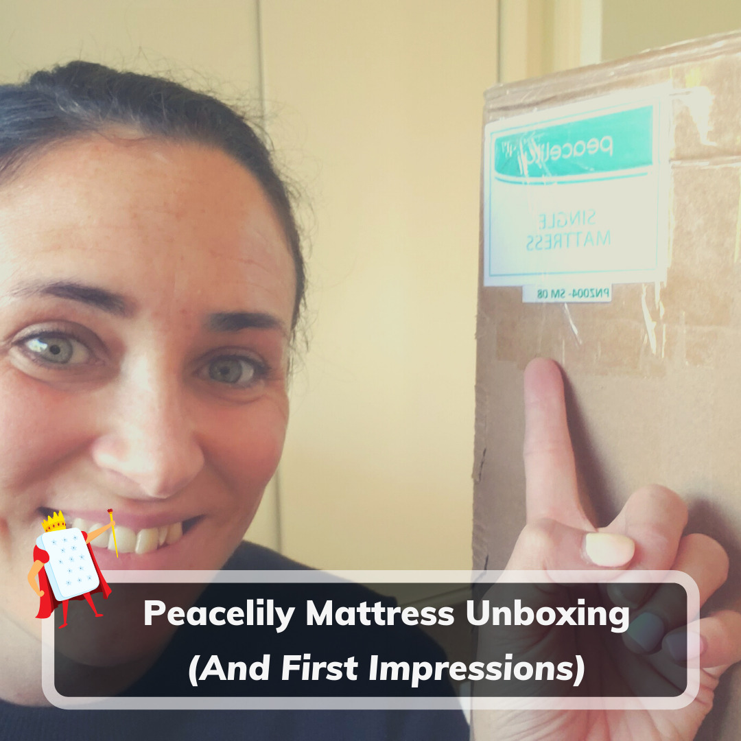 Peacelily Mattress Unboxing - Feature Image