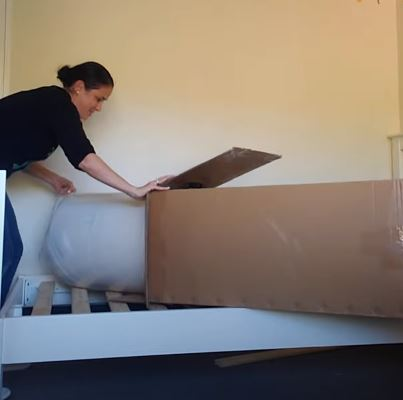 Peacelily Mattress Unboxing - Taking It Out Of The Box