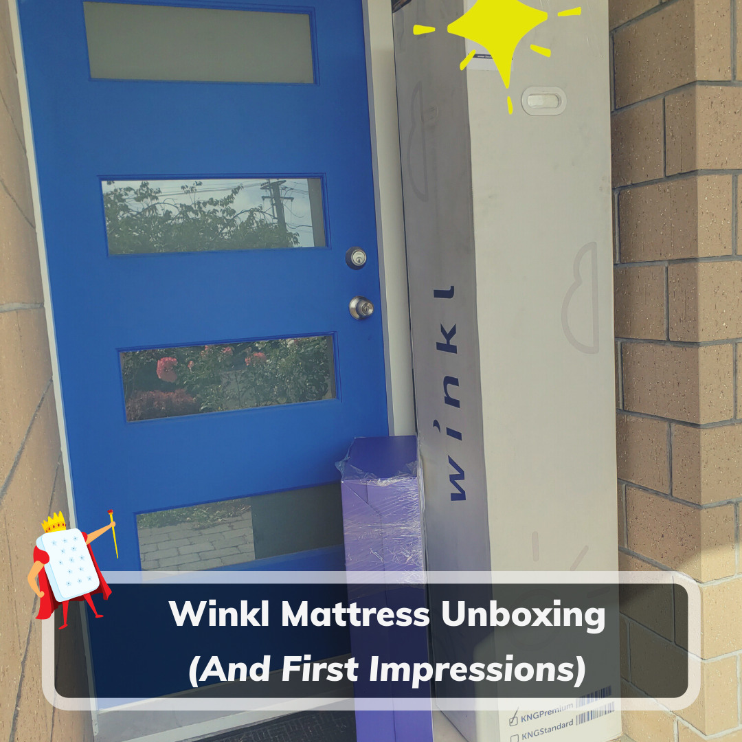 Winkl Mattress Unboxing - Feature Image