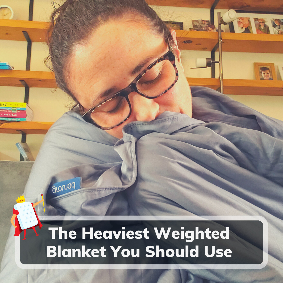 Heaviest Weighted Blanket - Feature Image