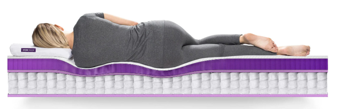 Which Purple Mattress Should I Buy - Purple Hybrid Premier Mattress Cross Section