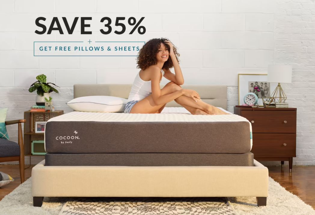 4th July Deals - Sealy Cocoon Staged