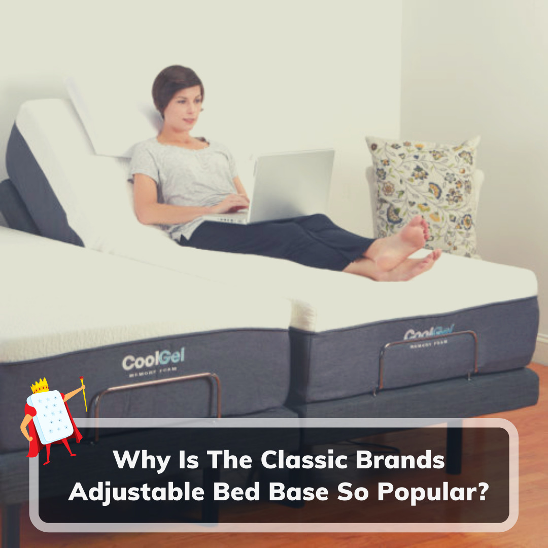 Classic Brands Adjustable Bed Base - Feature Image