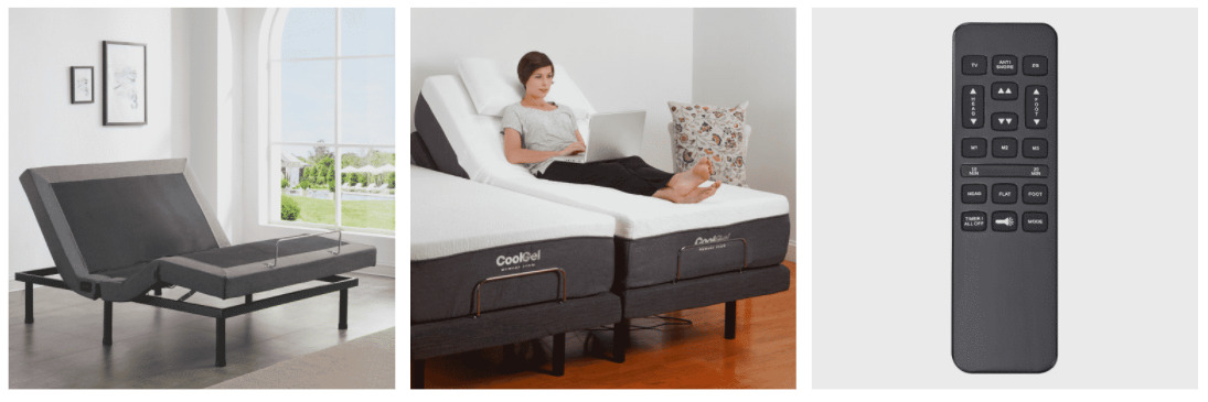 Classic Brands Adjustable Bed Base - Main Image