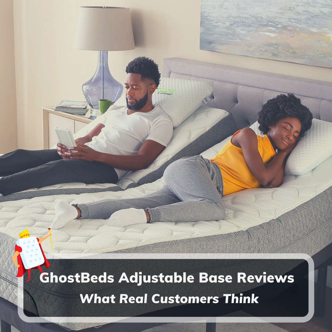 GhostBeds Adjustable Base Reviews - Feature Image
