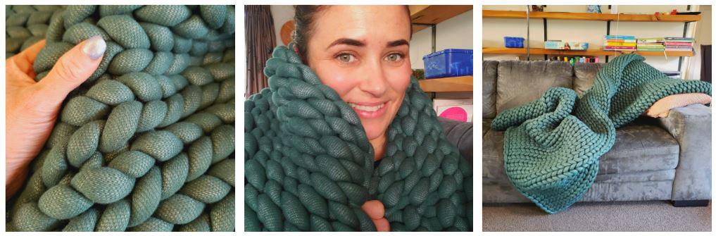 Sleep Heavy Knit Blanket