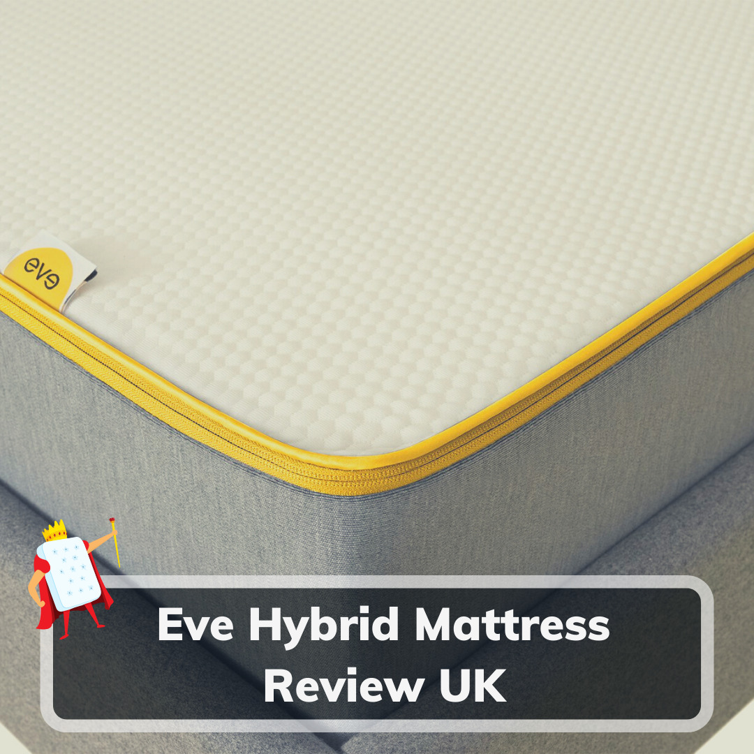 Eve Hybrid Mattress Review UK - Feature Image