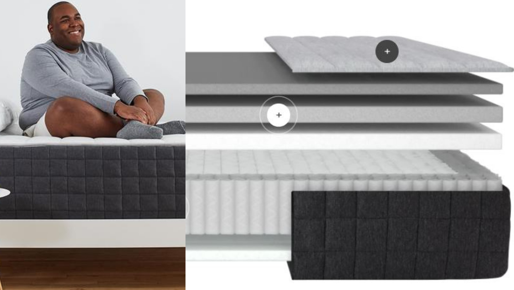 Helix Plus - Best Mattresses For Heavy People