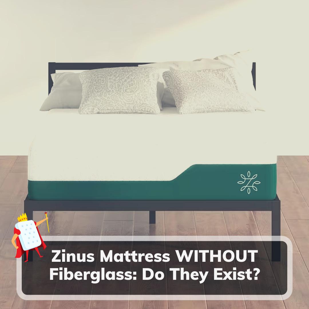 Zinus Mattress Without Fiberglass - Feature Image